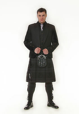 """grey Thistle ""  6Yd Kilt Made To Measure""sale Offer "" Now £279"