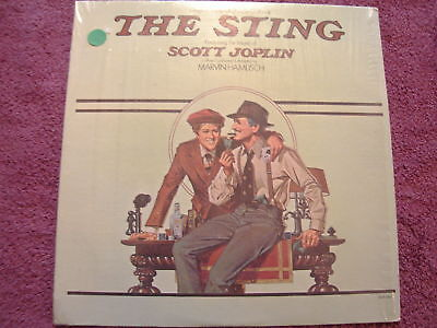 The Sting Original Motion Picture LP Record 1974