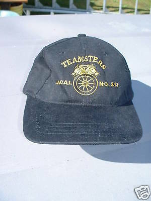Ball Cap Hat - Teamsters Local 213 Union British Columbia Trucking (H440)