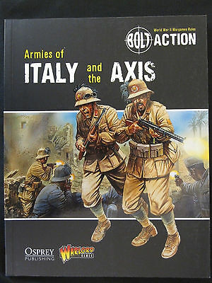 Osprey Bolt Action: Armies of Italy and the Axis OSP BTC007 NEW