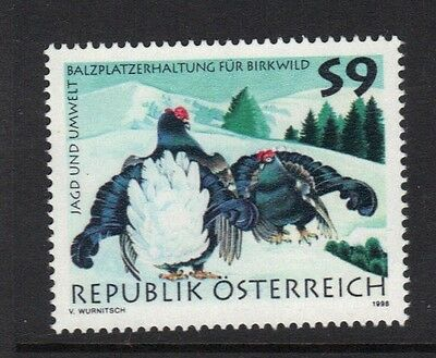 STAMPS   from  AUSTRIA    1998 HUNTING  lot 901
