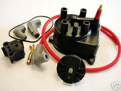 Msd 92-01 Acura Integra Rs Ls Gs Distributor Cap & Rotor Kit For External Coil