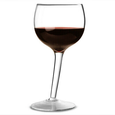 Wonky Wine Glasses 300ml - Set of 2 | Tipsy Tilted Angled Leaning Wine Glasses