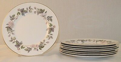 "Royal Worcester June Garland 10 5/8"" Dinner Plate Bone China England"