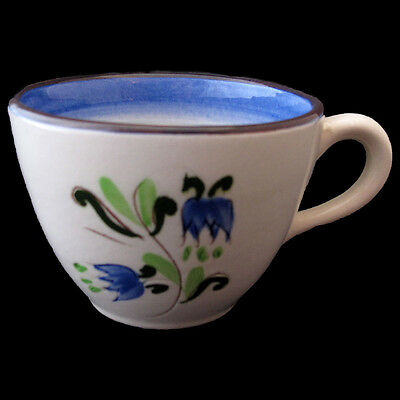 STANGL BLUE TULIP CUP 8 ounce