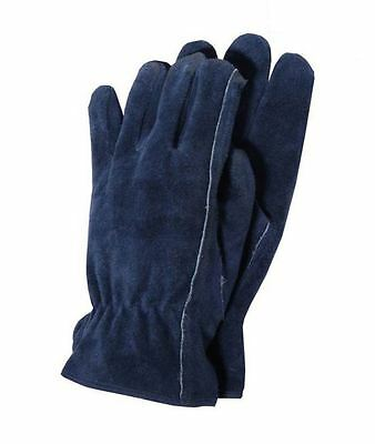 Town & Country Tgl407L Premium Leather Gardening Gloves Mens Large - Garden