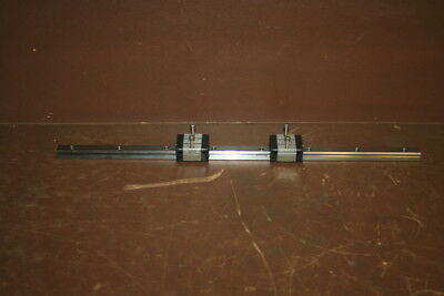 Linear ball slide Carriage Pair with 15x460mm rail THK SR15W NSK LS15