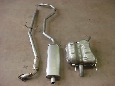 Vauxhall Vectra C 1.8 1.8i 02-06 Front Centre & Rear Exhaust Boxes Full System