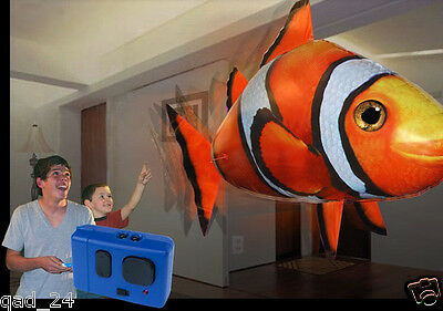 Flying Clown Fish - Remote Controlled RC Toy Boys Girls Children kids XMAS Gift