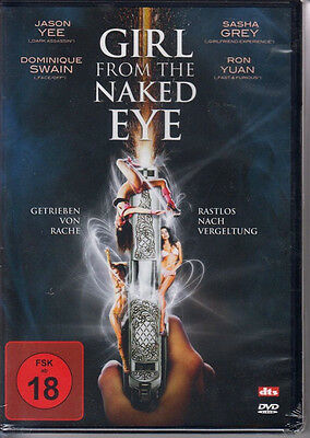 Girl from the Naked Eye DVD NEU FSK18