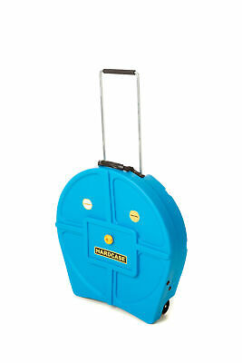 Hardcase HNP9CYM22LB With Wheels Coloured Cymbal Case Light Blue