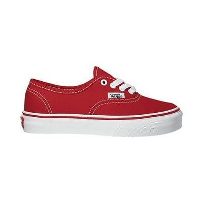 VANS SHOES KIDS YOUTH AUTHENTIC USA SIZE FREE POST Unisex Skateboard Sneakers