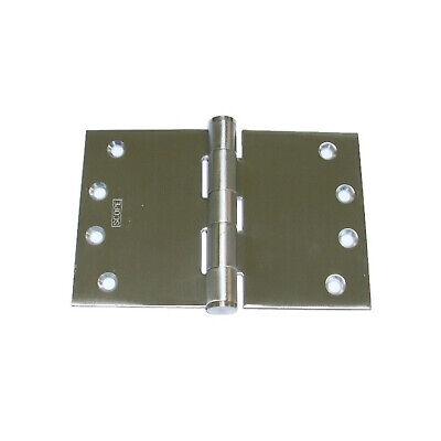 Quality Wide Throw Door Hinge SSH1006 100x150x3.5mm Fixed Pin Stainless Steel