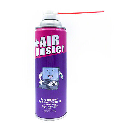 Multi-purpose Compressed Air Duster Cleaner 400ml AU POST
