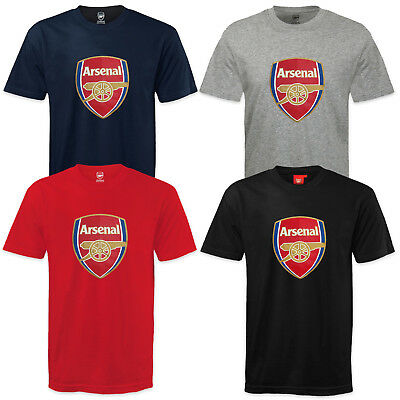 Arsenal FC Official Football Gift Mens Crest T-Shirt