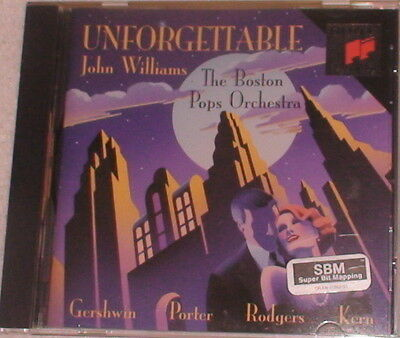 CD Unforgettable John Williams Boston Pops Orchestra 17 Songs 1993 Booklet