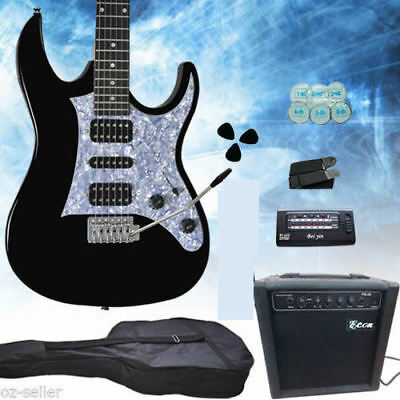 Electric Guitar With Amp Package Multiple Pickup High Quality New