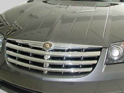 Chrysler Crossfire Front grill grille trims in Chrome Roadster Cabriolet