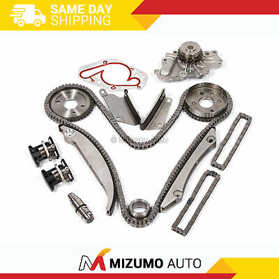 Fit 00-04 Dodge Stratus Chrysler Sebring 2.7 DOHC V6 Timing Chain Kit Water Pump