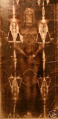 SHROUD OF TURIN...Framed image of Jesus Christ on cloth