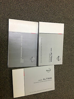 2009 nissan altima owners manual factory oem book 09. Black Bedroom Furniture Sets. Home Design Ideas