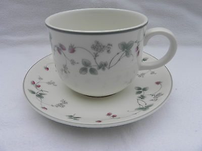 Royal Doulton STRAWBERRY FAYRE TEA CUP & SAUCER