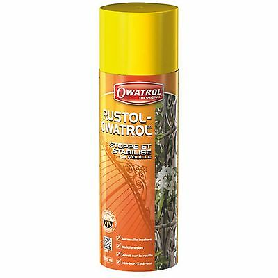 RUSTOL OWATROL spray 300 ml DIRECT ROUILLE INCOLORE