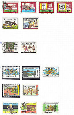 TANZANIA STAMP Collection Modernish Issues  REF:X149