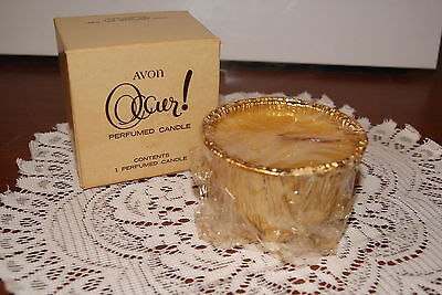 AVON 1969  OCCUR !  FRAGRANCE  CANDLE  REFILL