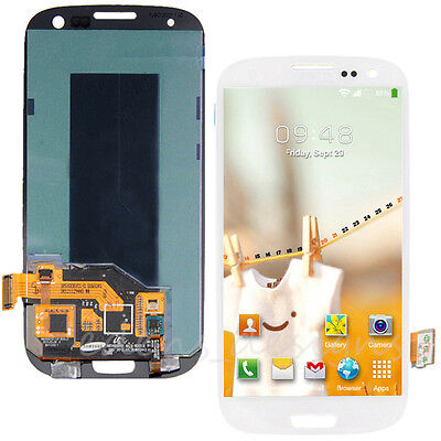 LCD DIGITIZER TOUCH SCREEN ASSEMBLY WHITE FOR SAMSUNG GALAXY S3 I747 I535 T999