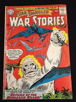 STAR SPANGLED WAR STORIES #111 VG- Condition