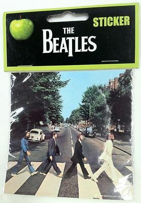 THE BEATLES Music Sticker ABBEY ROAD