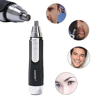 Electric Nose Ear Face Hair Removal Trimmer Shaver Clipper Cleaner Remover Tool