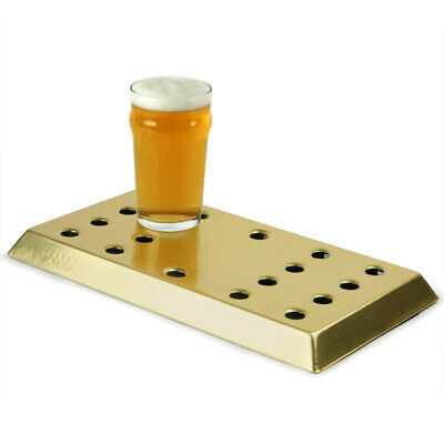 Brass Drip Tray | Bar Drip Tray, Driptrays | Aluminium Drip Tray with Brass Coat