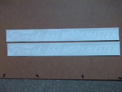 Ford 661 Workmaster Decals. Hood Only. Vinyl. See Details