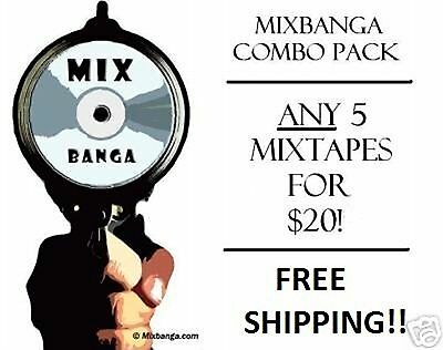 BUY 5 MIXTAPES FOR $20 GET 2 FOR FREE!!! 7 MIXTAPES FOR $20! BEST BUY!! SAVE!!