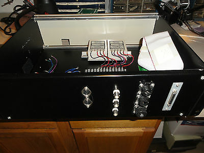 Rack Mount Test Fixture For National Instruments 68 Pin Dual Power Supply & Bncs