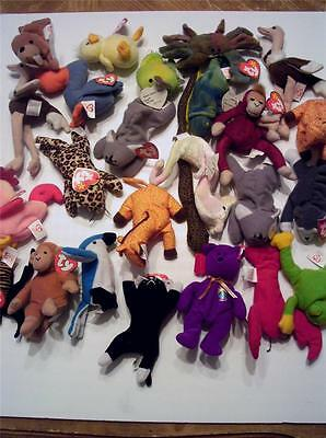 Ty Teenie Beanie Used in Good Condition 24 animal lot