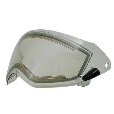 Replacement Electric Heated Shield Visor Gmax Gm11 Dual Sport Double Lens Snow