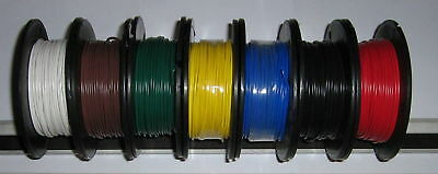 NEW  12 x  5 m   4mm WIRE( in twelve colours)    TYCAB SINGLE AUTO WIRE