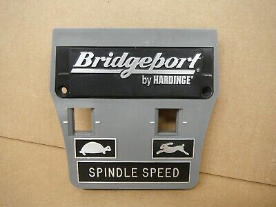 Bridgeport Mill Part, Milling Machine Spindle Speed Plate 1182901 M1478