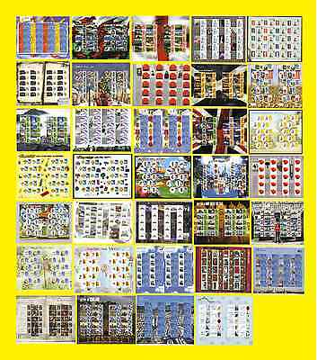 Any Smilers Sheets from 2006 LS36 to 2010 LS70, each sold seperately, mint