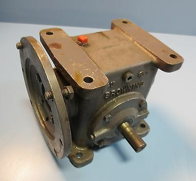 Browning Gear Reducer 154C1-LR30 .52 HP Model A Ratio 30:1 345 in lb