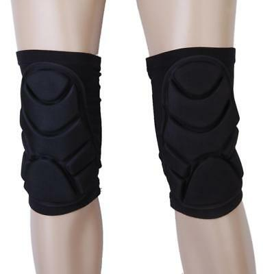 Pair Sports Leg Knee Patella Support Guard Brace Wrap FOAM Protector Pads Sleeve