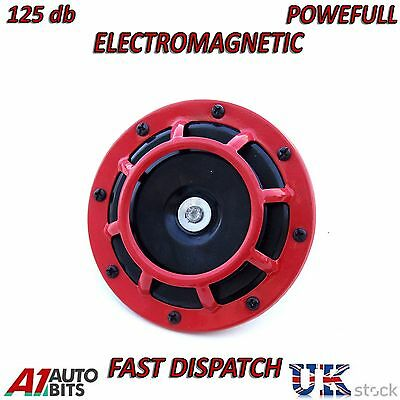 Disc Horn 12V universal for vw bora caddy golf jetta passat polo NEW BOXED