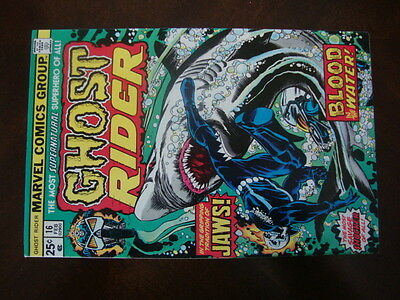 Ghost Rider #16 VF Blood In The Water