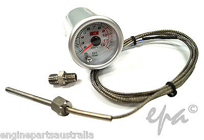 WHITE FACE EGT PYRO PYROMETER GAUGE 52mm - SUIT TURBO DIESEL