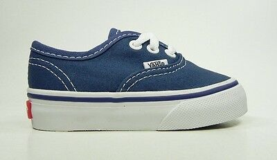 7dad21bebe Vans Authentic Infants Babies Toddlers Boys Girls Navy Blue Canvas Shoes  Sneaker