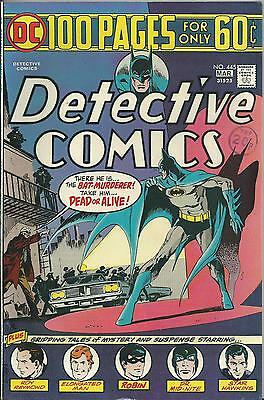 Detective Comics #445 (Dc) 1975 (100 Pages) Vf+ (8.5) High Grade