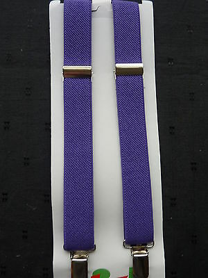 BRACES for BOYS/GIRLS/CHILDREN/KIDS -BRAND NEW - PURPLE... fit approx. 1-6 years